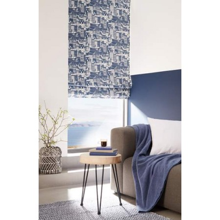 Harbour Blue - Roman Window Blinds