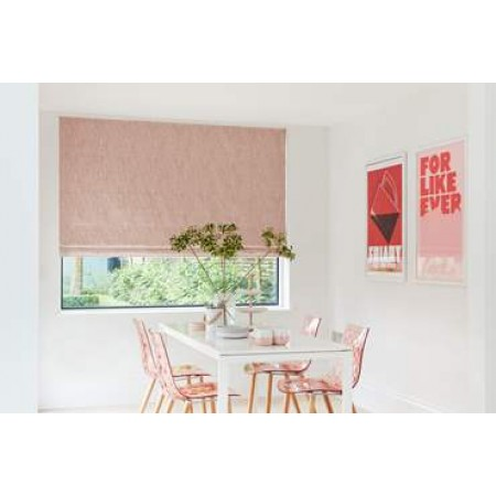 Rise Blush - Roman Window Blinds