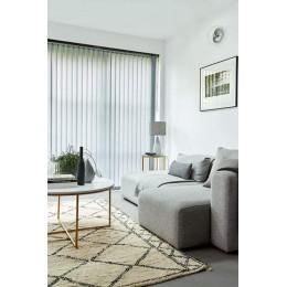 Elsie Grey - Vertical Window Blinds