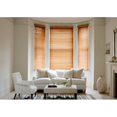 Tuscan Oak Venetian Window Blinds