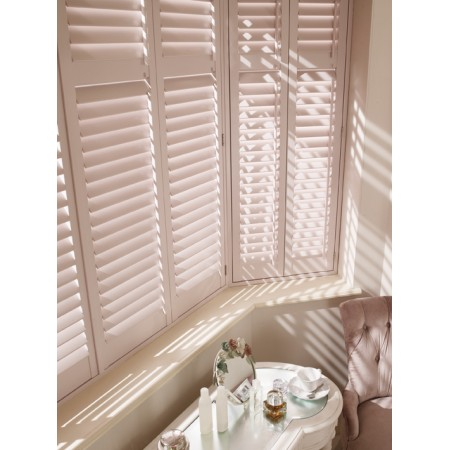 Bay Window Blinds - Plantation Shutters
