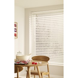 Pure White Wood Illusions Venetian Blind